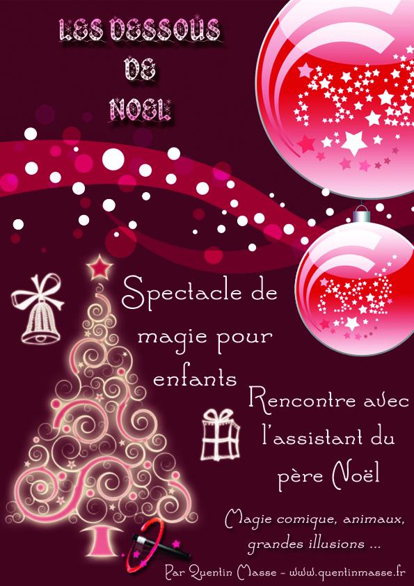 """Exceptionnel Spectacle de magie """"Les dessous de Noël"""" pour arbre de Noël  LF74"""